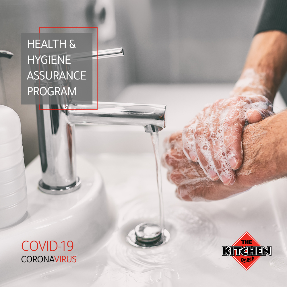 Health and Hygiene assurance program, washing hands