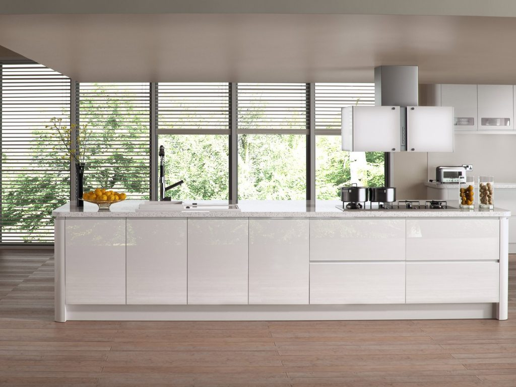 Sienna Gloss White Kitchen
